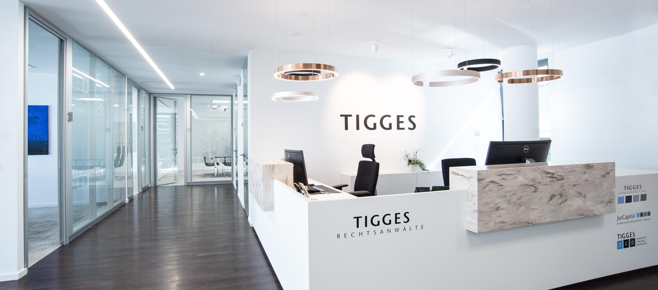 TIGGES start page entrance
